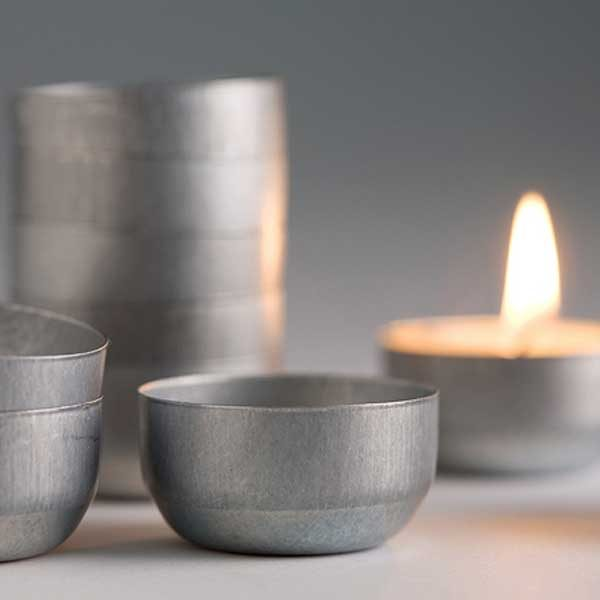 Re-usable tealight candle holders